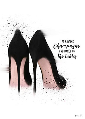 Drick champagne och dansa