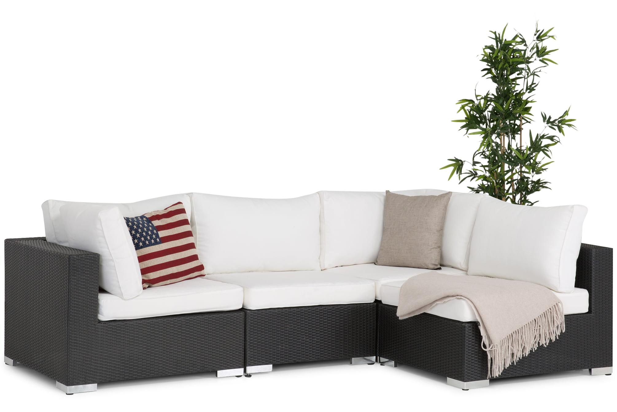 Billig loungesoffa, svart, modern och snygg!